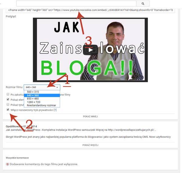 Zamiescic-Video-Film-na-Blogu-wordpress-dla-poczatkujacych-irek-wrobel-1