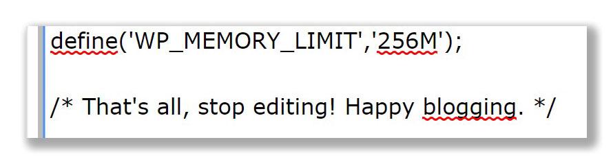 Fatal-error-Allowed-memory-size-wordpress-dla-poczatkujacych-