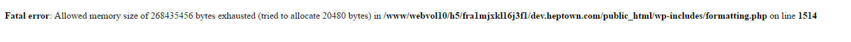 Fatal-error-Allowed-memory-size-wordpress-dla-poczatkujacych