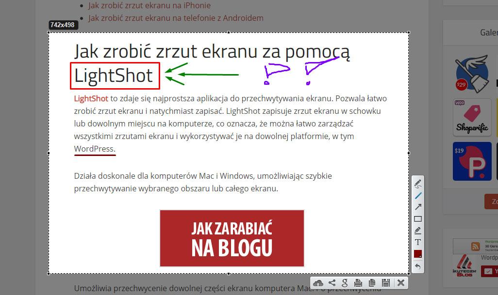 wordpressdlapoczatkujacych-zrzut-ekranu-lighshot