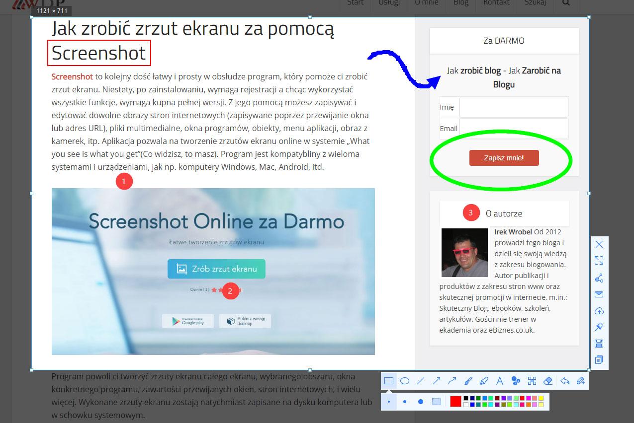 wordpressdlapoczatkujacych-zrzut-ekranu-screenshot-funkcje