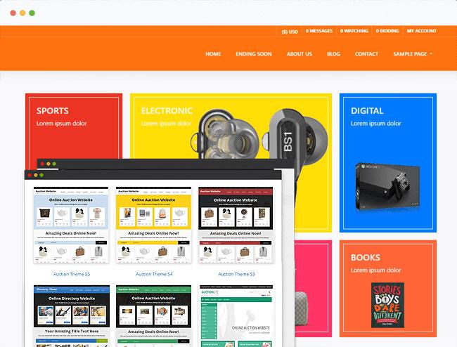 Szablon-Wordpress-70-Taniej-wordpress-dla-poczatkujacych-aukcje