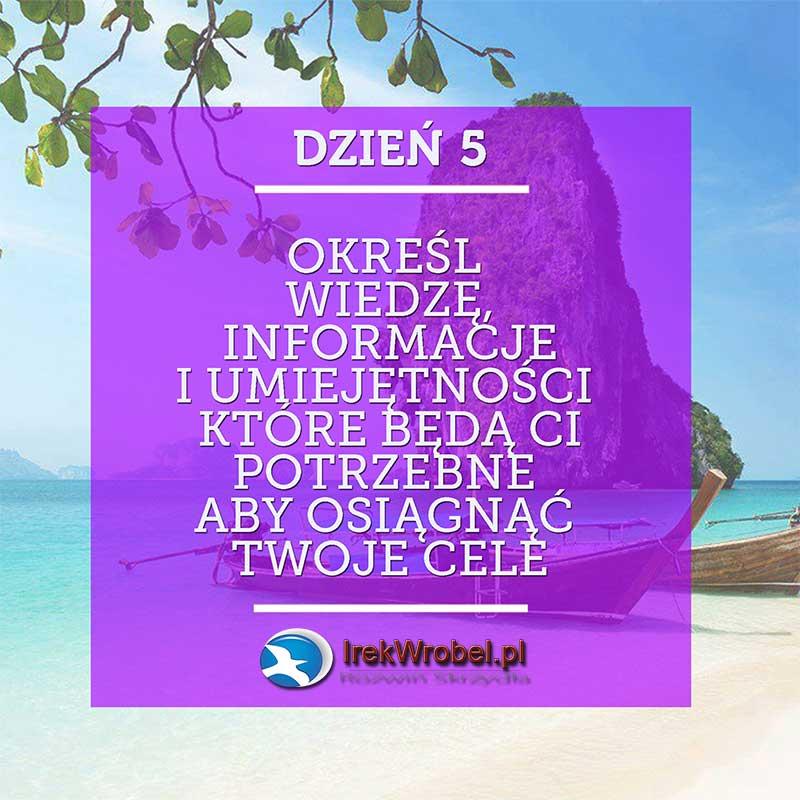 dzien-5-Okresl-wiedze-informacje-i-umiejetnosci-jakie-beda-ci-potrzebne-irekwrobel-pl