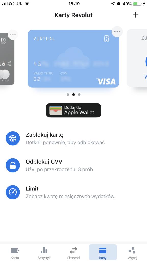 darmowe konto biznesowe karta wirtualna